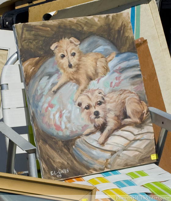 Little Dogs Painting