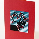 Yudu Silkscreened Card