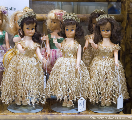 White Elephant Sale Dolls
