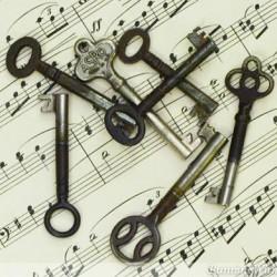 Skeleton Keys Furniture Keys