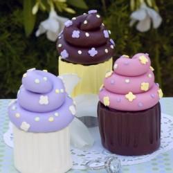 Sweet Sculpey Cupcake Ring Boxes