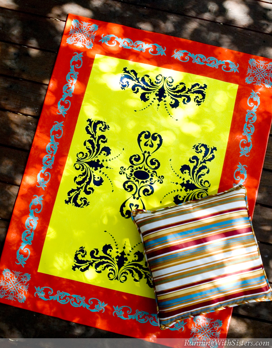 Alfresco Floorcloth