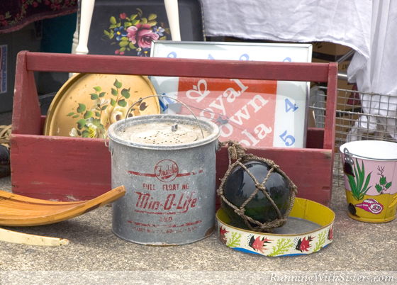 Bait Bucket At The Flea Market