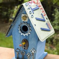 Flea Bitten Birdhouse