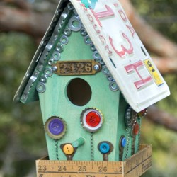 Flea Style Birdhouse