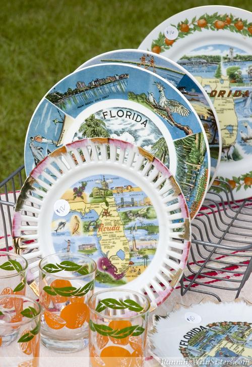 Florida Souvenir Plates