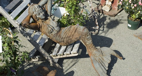 Garden Statuary Mermaid