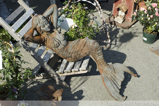 Garden Statuary Mermaid