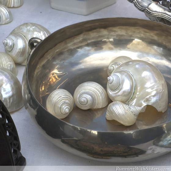 Seashell Chic At The Flea Market