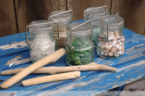 Seaside Style Beachy Jars