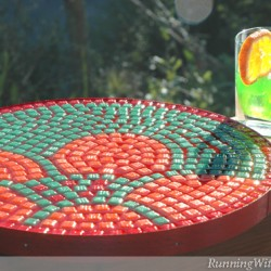 Serve With Style Mosaic Tray