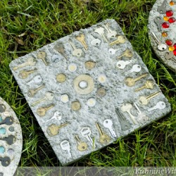 Steampunk Stepping Stone