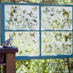 The Butterfly Effect: How To Etch A Garden Window