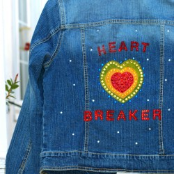 Beadazzled Jean Jacket