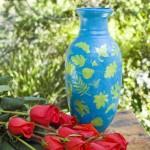 Extreme Makeover Glitter Paint Vase