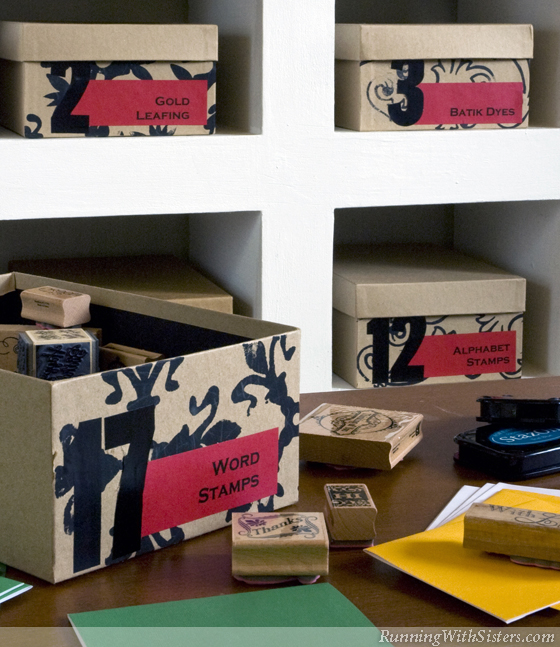 Foxy Boxes Creative Storage