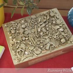 Gold Rush Treasure Box