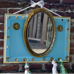 La-di-da Looking Glass Upcycled Mirror
