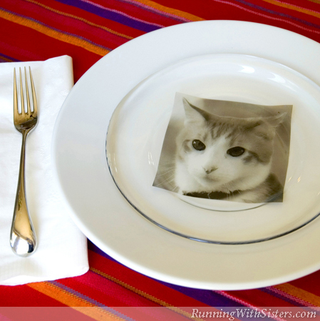 Personalized Pet Plate