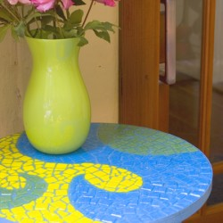 Smashing Tile Table Mosaic