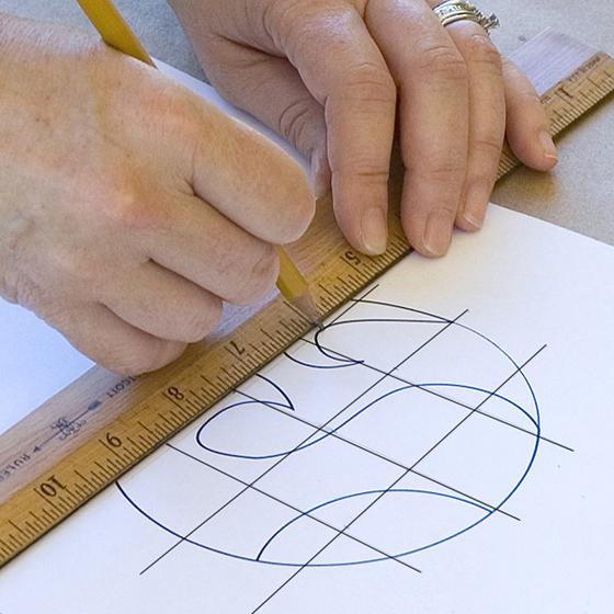 Smashing Tile Table Step 3 Draw Grid