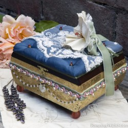 Something Old Something New Jewelry Box