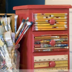 Art Supplies Chest