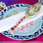 Crystal Wrapped Cake Server