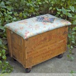 Crate Awakening Storage Ottoman