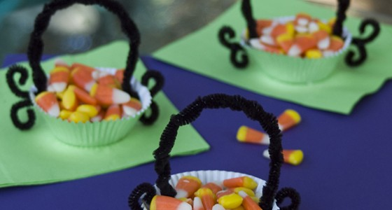 Candy Corn Candy Cups