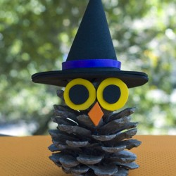 Witchy Pinecone Owl