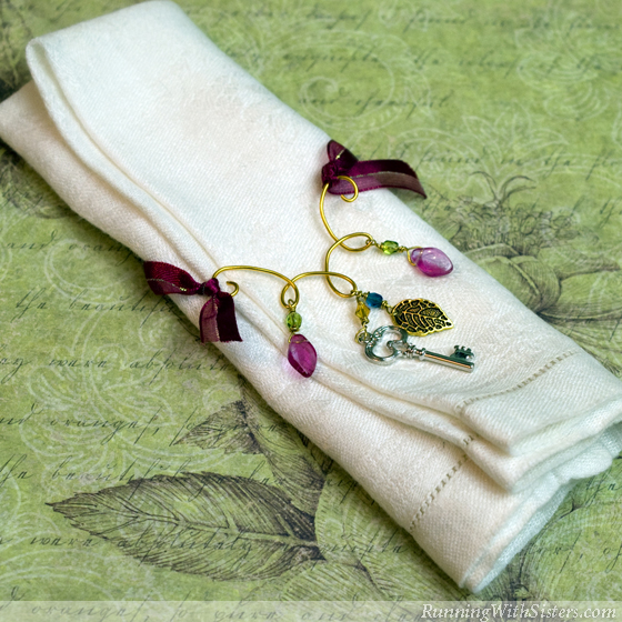 Wire and Bead Napkin Ring