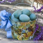 Old Time Easter Basket Centerpiece
