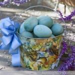 Old Time Easter Basket Centerpiece