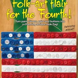 Fourth Button Flag