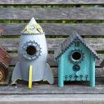 Steampunk Birdhouses!