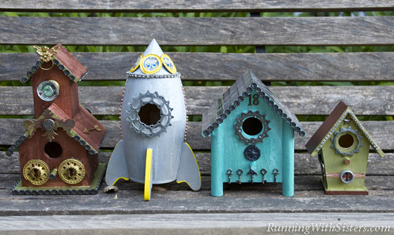Flea Style Birdhouses