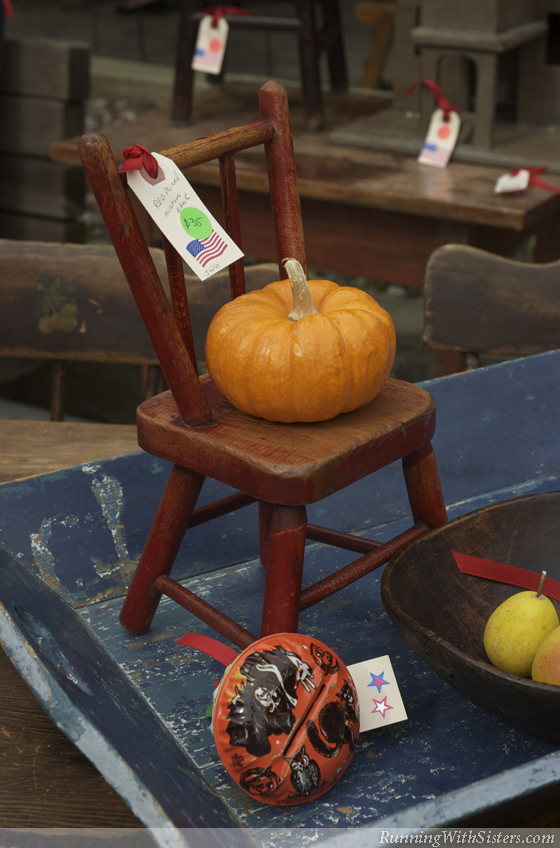 Halloween Pumpkin On Chair