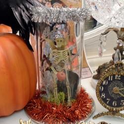 Skeleton Jar Display
