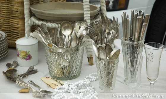 Flatware in Crystal