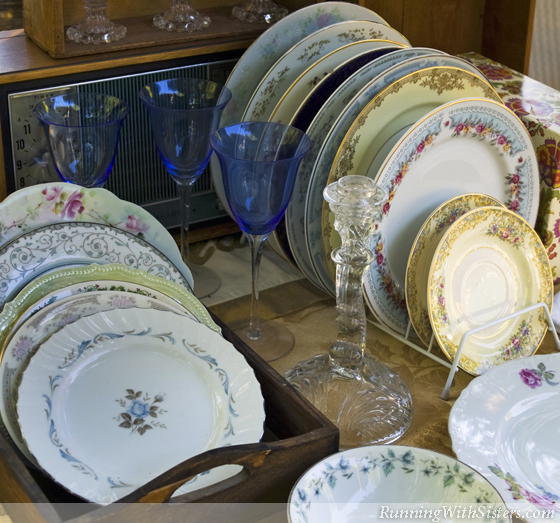 Mixed Patterned China