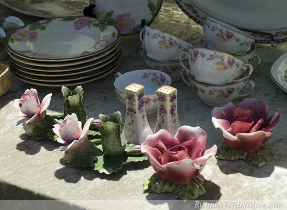 Rose Candlesticks