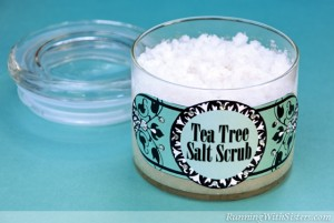 Tea Tree Salt Scrub