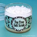How To Make Tea Tree Salt Scrub