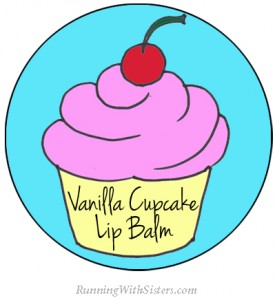 Vanilla Cupcake Lip Balm Label