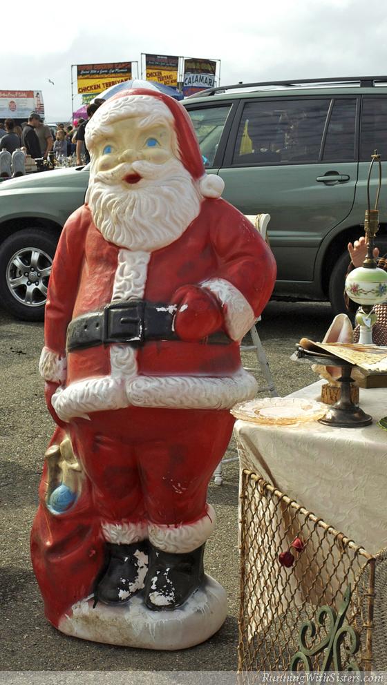 Gigantic Lawn Santa