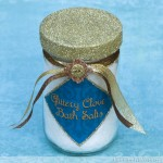 Glittery Clove Bath Salts