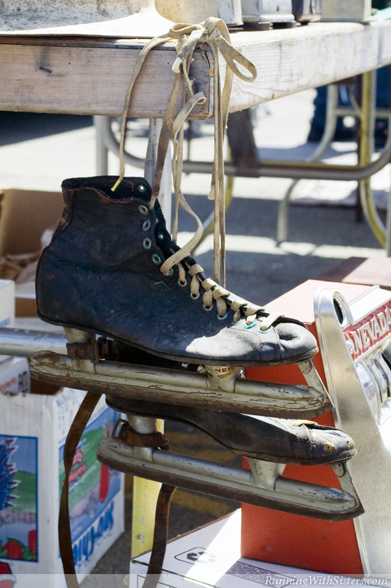 Leather Ice Skates