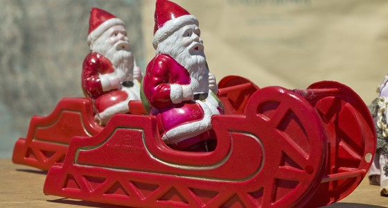 Racing Santa Sleds