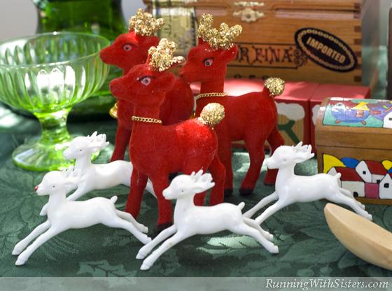 Reindeer Games Velvet Reindeer